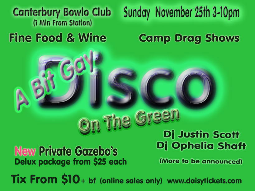 disco on the green